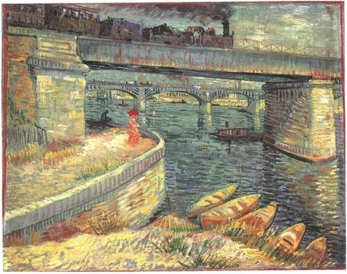 Bridge across the Seine at Asnieres, Van Gogh
